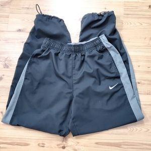 Nike Dri-FIT warmup pants Medium Black w/Gray